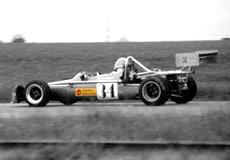 Genie Mk13 driven by Robert Eyres, British Monoposto Championship 1981