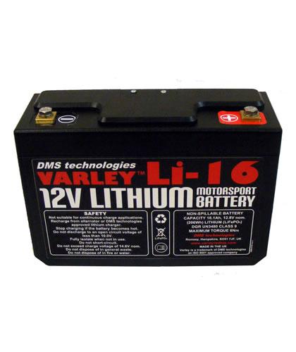 Varley Lithium Batteries