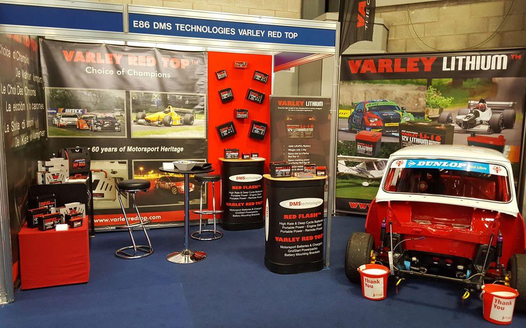 Varley Red Top & Varley Lithium featured at Autosport Engineering 2017