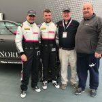 DC meets Bert Taylor, Dave Newsham & Chris Smiley of the BTCNorlin race team at Thruxton
