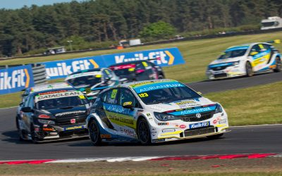 Frustrating Weekend for Adrian Flux with Power Maxed Racing